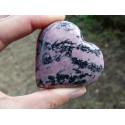 Rhodonite Polie 131 Gr - Coeur