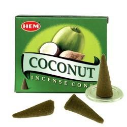 Encens HEM - Noix de Coco - Cône