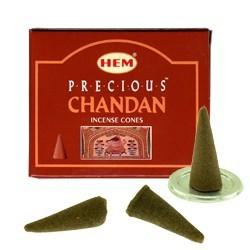 Encens HEM - Precious Chandan - cône