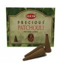Encens HEM - Precious Patchouli - cône