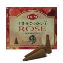 Encens HEM - Precious Rose - Cône