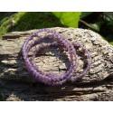 Améthyste - Bracelet - Perles rondes de 4mm