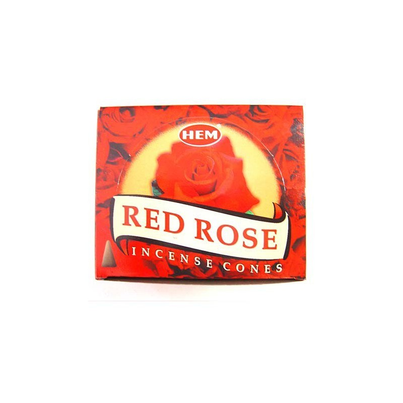 Cône Rose Rouge - Hem
