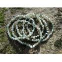Agate Mousse - Bracelet - Perles rondes de 4mm