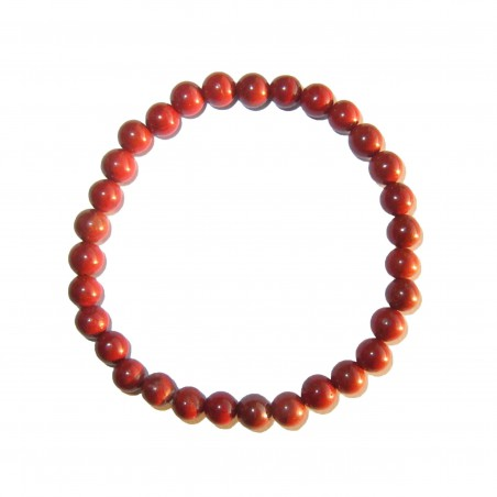 Jaspe Rouge - Bracelet 6mm