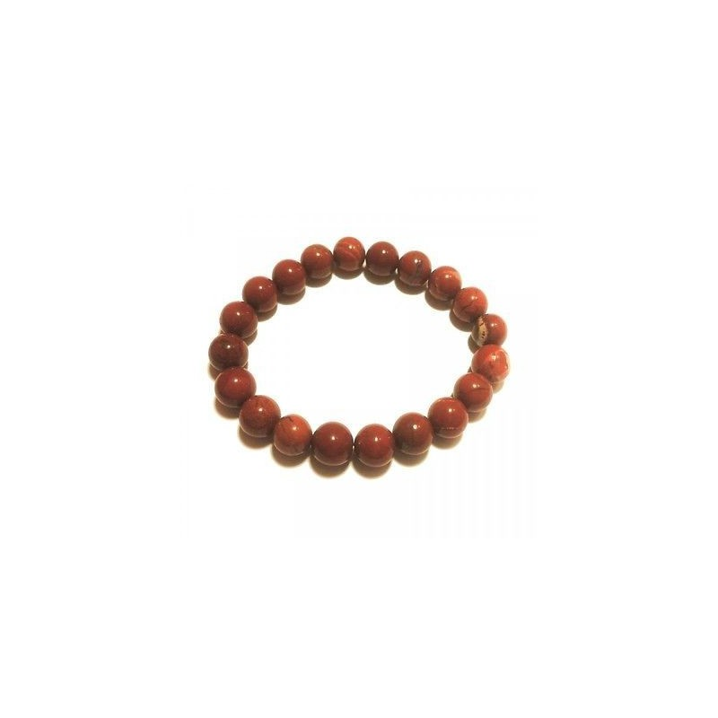Jaspe Rouge - Bracelet 8mm