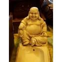 Porte Encens Résine Bouddha Chinois