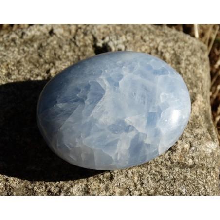 Calcite Bleue Polie 87 Gr