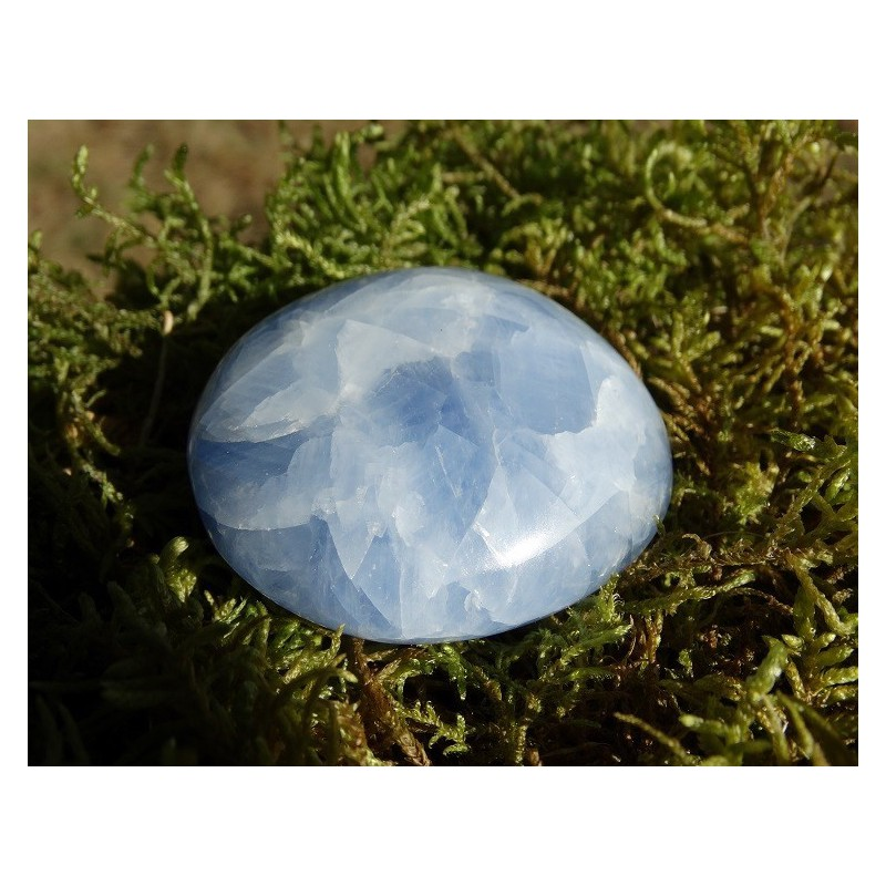 Calcite Bleue Polie 107 Gr