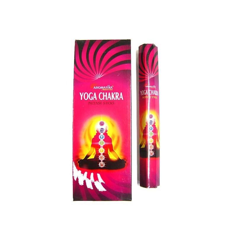 YOGA CHAKRA X20 - Encens Aromatika