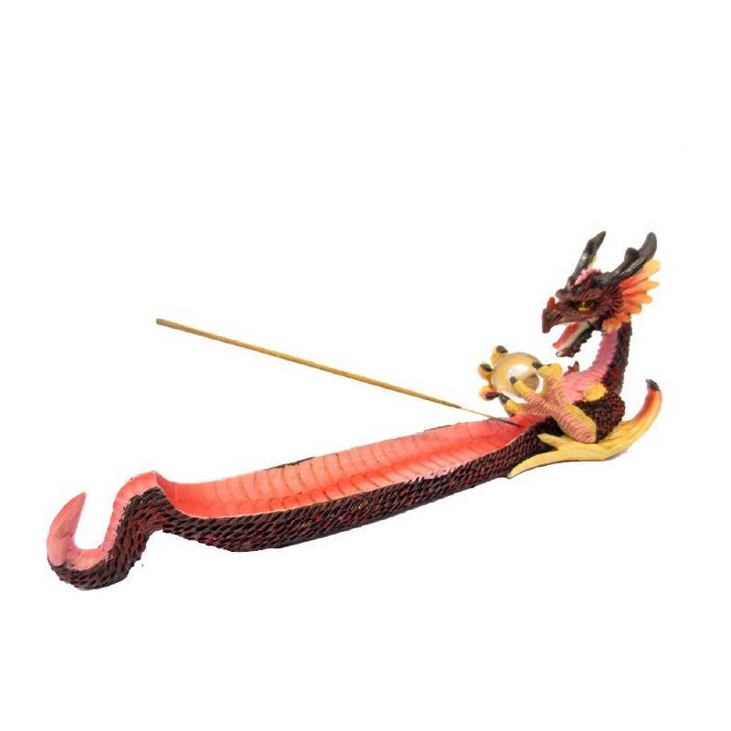 Porte Encens Résine Dragon