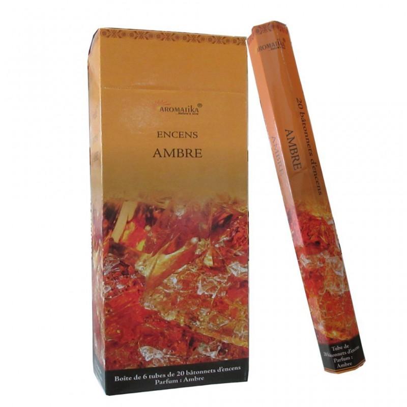 AMBRE X20 - Encens Aromatika