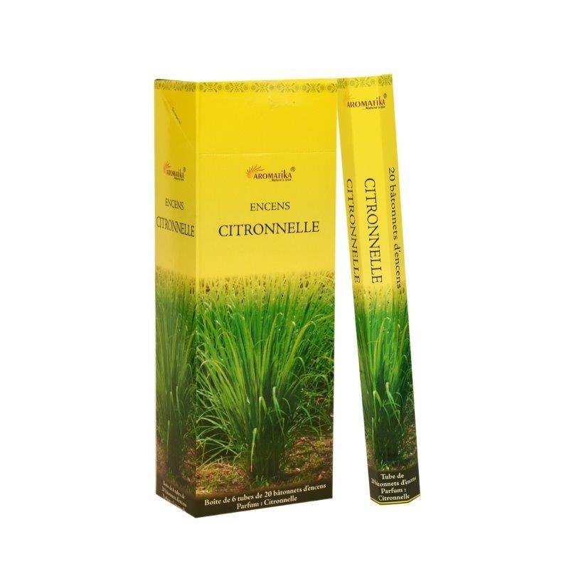 CITRONNELLE X20 - Encens Aromatika