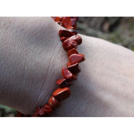 Jaspe Rouge - Bracelet Baroque