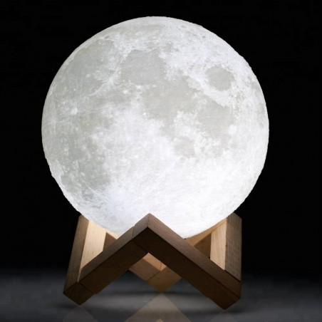 Lampe 3D Moon USB Led - 20cms
