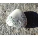 Agate Dendritique (Merlinite) Polie 13 Gr