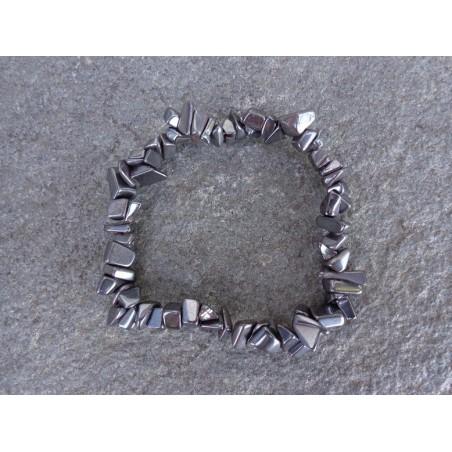 Hématite - Bracelet Baroque