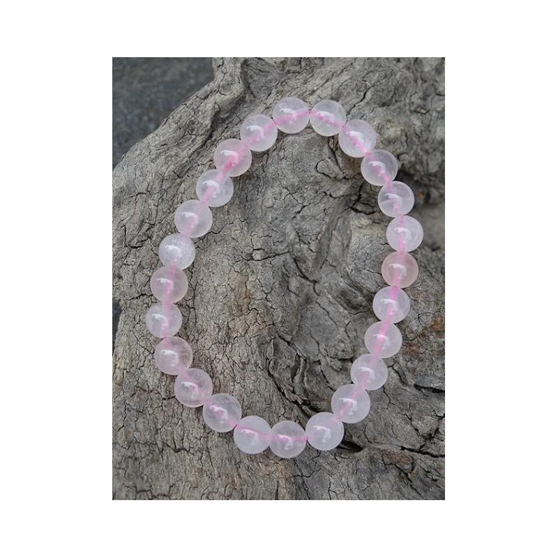 Quartz Rose - Bracelet