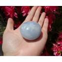 Calcite Bleue Polie 81 Gr