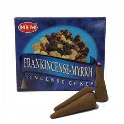 Encens HEM - Myrrhe - Cône