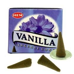 Encens HEM - Vanille - Cône