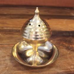 Encensoir Traditionnel Laiton - Grand Modèle