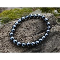 Hématite - Bracelet 8mm