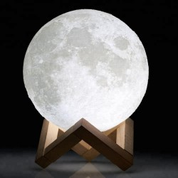 Lampe 3D Moon USB Led - 8cms