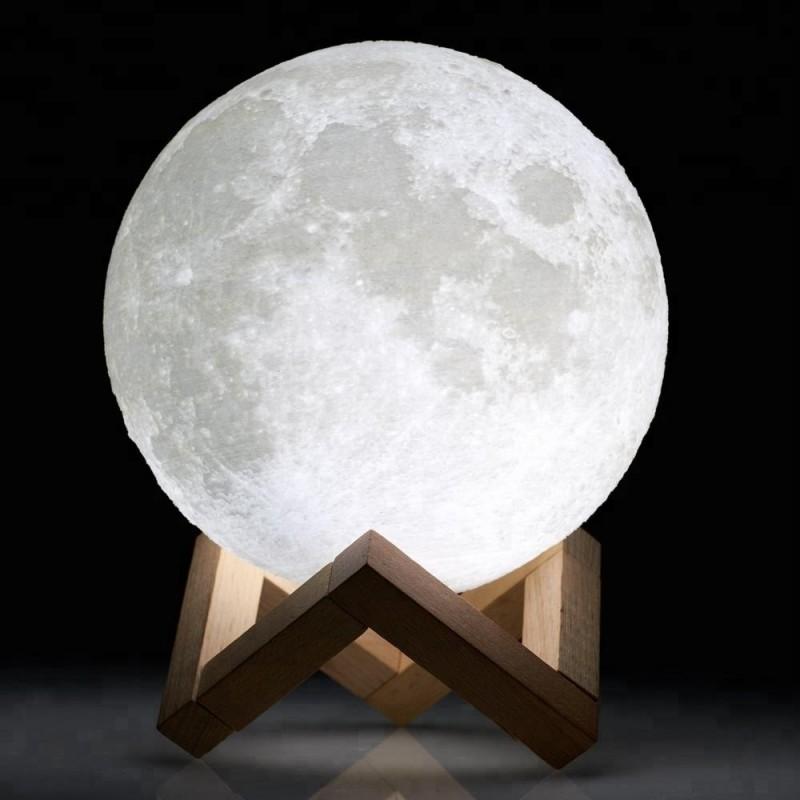 Lampe 3D Moon USB Led - 8cms