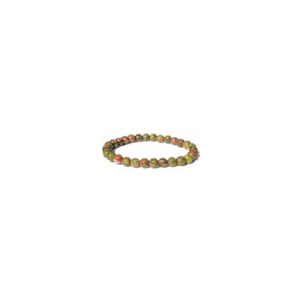 Bracelet Unakite - 4mm
