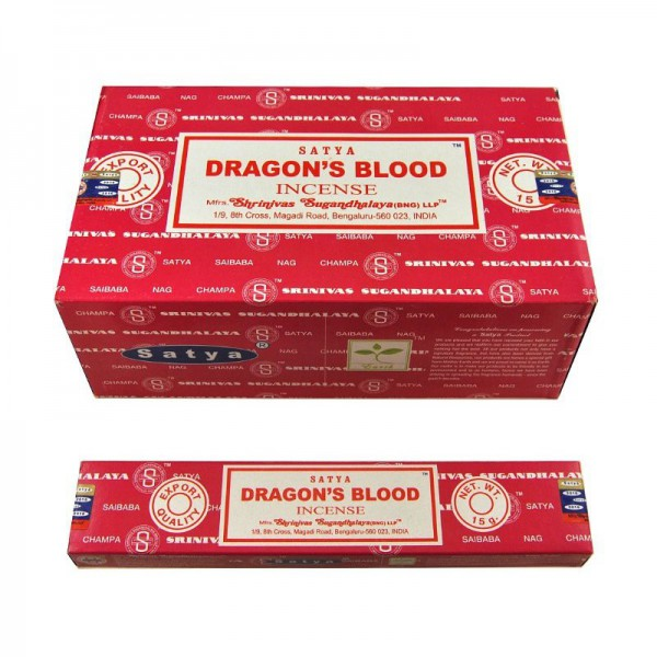 Encens SATYA DRAGON'S BLOOD (sang de dragon)