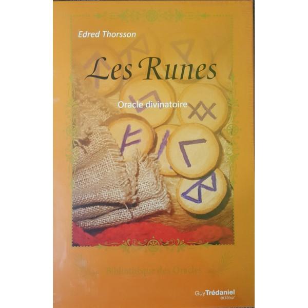 Les Runes - Oracle divinatoire (runes + livre)