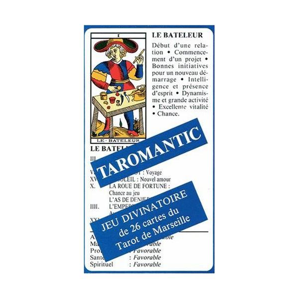 Taromantic jeu divinatoire 26 cartes