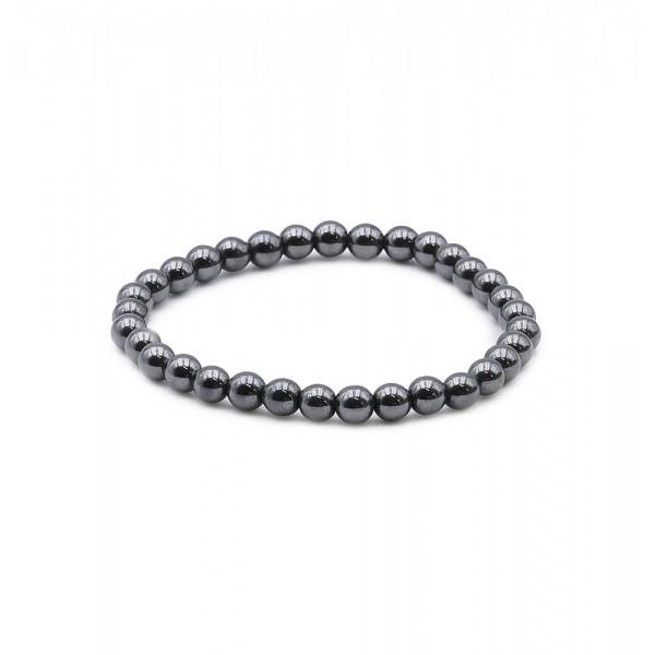 Hématite - Bracelet 6 mm