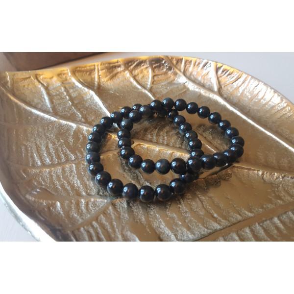 Bracelet Obsidienne Oeil Céleste 8mm