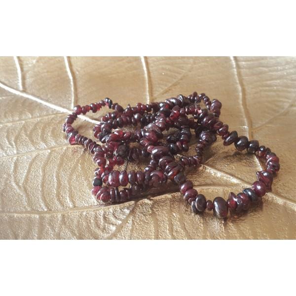 Grenat - Bracelet baroque