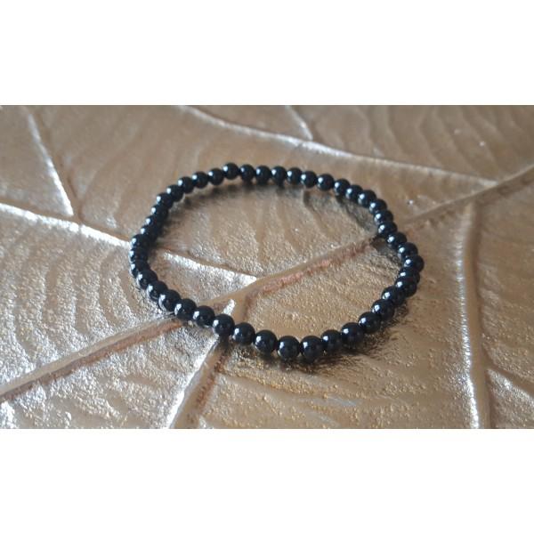Tourmaline Noire - Bracelet 4mm