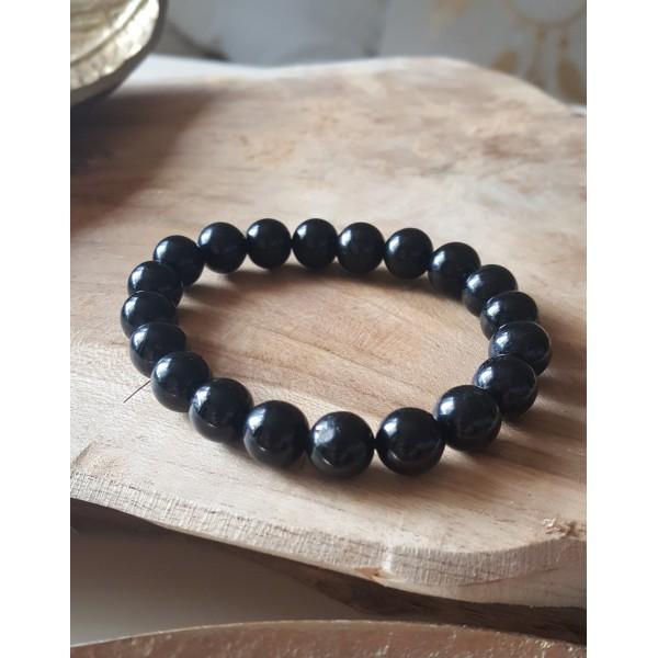 Tourmaline Noire - Bracelet 10mm