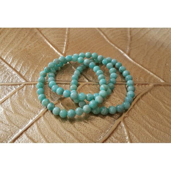 Amazonite - Bracelet 6mm
