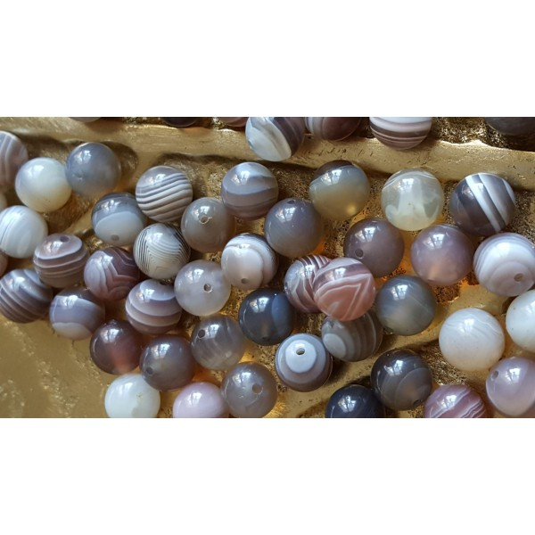 Agate - perle de 6mm