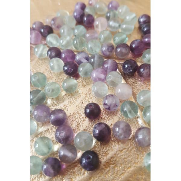 Fluorite - perle de 6mm