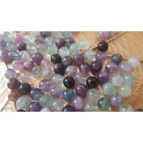 Fluorite - perle de 8mm