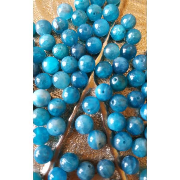 Apatite - perle ronde de 6mm
