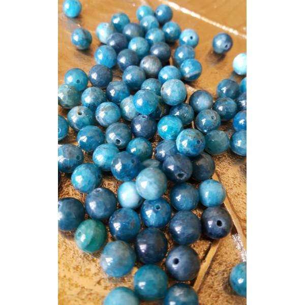 Apatite - perle ronde de 8mm