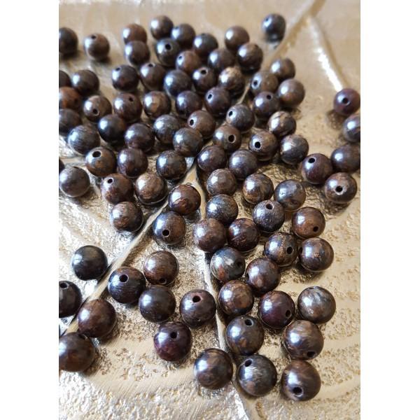 Bronzite - perle de 6mm