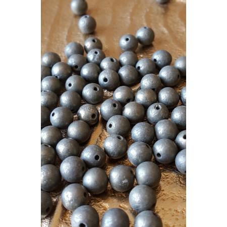 Pyrite - perle ronde de 6mm