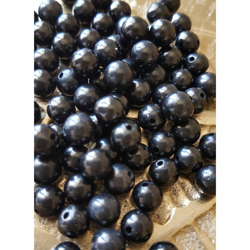 Jais - perle ronde de 6mm