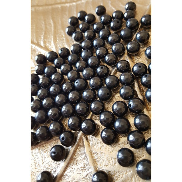 Jais - perle ronde de 8mm