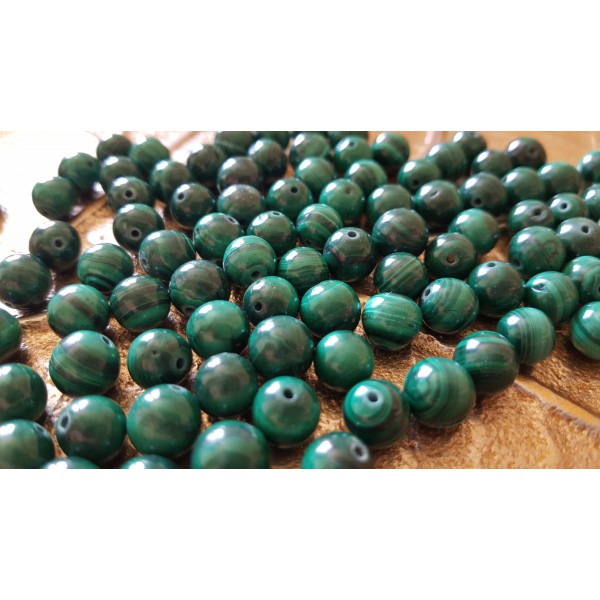 Malachite - perle de 8mm