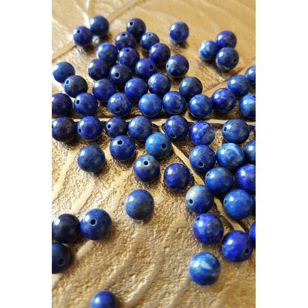 Lapis Lazuli - perle de 6mm